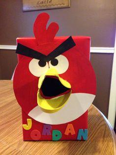 Angry Birds Valentine's box.