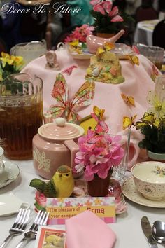 Mothers Day Tablescapes