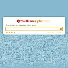 Wolfram Alpha é uma ferramenta capaz de compreender o significado dos termos de uma busca através de computação dinâmica. #kernelgeekcrew #tecnologia #websemantica