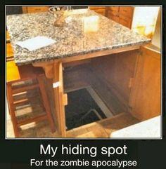 Would love this secret hideout built into my dream home ;)