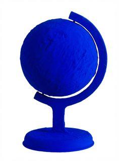Blue globe.............