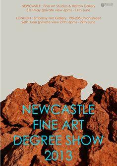 Newcastle Fine Art Degree Show July 2013