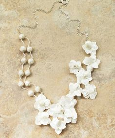 Cuentas-y-Flores Necklace