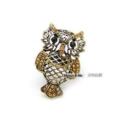 Bohemian Retro Owl Ring General. Small and catchy. REPIN if you like it. Only 32 IDR
