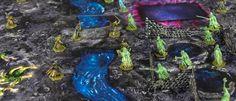 TerraTiles: Tundras, Wastelands, & Caverns Tabletop Terrain by Heath and Seth Robinson — Kickstarter