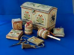"""Toy Chest Etui""......Betsy Morgan design"