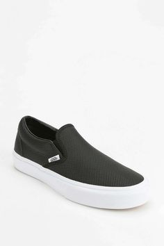 Vans Perforated Leather Womens Slip-On Sneaker - Urban Outfitters
