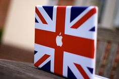I want to do this to my Macbook. Anyone know where I can get a Union Jack Mac sticker?