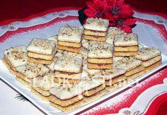 Ořechové kostky s bílou čokoládou – Hančiny Sladkosti.net