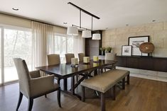 How To Achieve ating Ideas — Jackiehouchin Home Ideas dining room decorating ideas modern - Dining Room Decor Dining Room Walls, Dining Room Sets, Dining Room Design, Dining Room Furniture, Dining Decor, Dining Tables, Wood Furniture, Furniture Ideas, Kitchen Dining