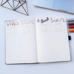 Future Log / Bullet Journal By Bullet Journal 2019, Another One, Wildlife, Rest, Notebook, Future, Space, Instagram, Floor Space