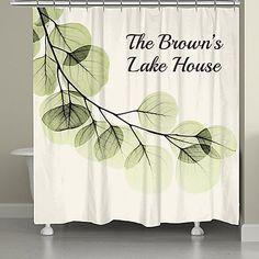 Eucalyptus Shower Curtain Bbb Laural Home Eucalyptus Shower