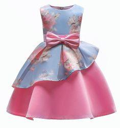 Girls Bow Knot Princess Dress