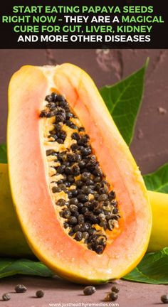 Start Eating Papaya Seeds Right Now – They Are a Magical Cure for Gut, Liver, Kidney and for More Other Diseases Herbal Remedies, Health Remedies, Natural Remedies, Eating Organic, Eating Raw, Health And Nutrition, Health And Wellness, 4th Of July Cocktails, Herbal Medicine
