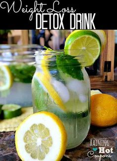 Detox Drink WEIGHT LOSS DETOX DRINK Please like, share and comment INGREDIENTS •2 quarts water •1 Lemon •1 Cucumber •1 Tablespoon grated Fresh Ginger •1 Lime •Fresh Mint (about 10-15 leaves)