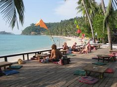 Lonely Beach, Ko Chang, Thailand Tree house lodge    Recommend the Pineapple Rice.  Good for breakfast, lunch or dinner.