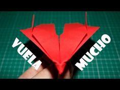 Como hacer un Avion de Papel que Vuela Mucho - Aviones de Papel - Origami Avión   F16 - YouTube