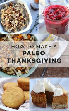 Paleo Thanksgiving Menu with make-ahead instructions