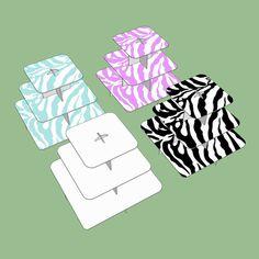 Zebra Striped Cupcake Stand 3 Tier; Safari Cupcake Stand; Jungle Theme cupcake stand; Unisex Birthday Decor; Unisex Baby shower; Cupcakes by SimplyCreatedForYou6 on Etsy