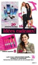 Avon Brochure  LUCY HALE, AMBASSADRICE mark., ACTRICE ET CHANTEUSE..