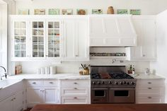 glass and chrome cabinet hardware with carrara marble kitchen countertops - Google Search