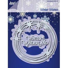 6002/0910 Noor! Design Winter Wishes Sterrencirkel
