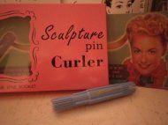Sculpture Pin Curler
