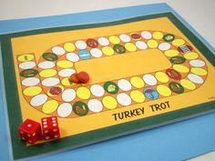 Small Turkey Trot game board