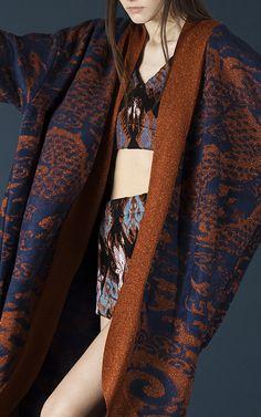 Lurex Dragon Kimono by TAK.ORI for Preorder on Moda Operandi