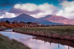 Mourne Mountains from Twelve Arches, Newcastle, county Down, Northern Ireland