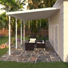 Pergola, once popular in Italian Renaissance, are an admirable let-up from heat during burning summer. To talk about the construction, pergola is not as complicated as it sounds. Patio Roof, Back Patio, Pergola Patio, Pergola Plans, Diy Patio, Pergola Kits, Backyard Patio, Backyard Landscaping, Pergola Ideas