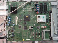 Телевизор включается крайне нестабильно или не включается совсем. При подключении к сети синий светодиод отмаргивает 7 раз и гаснет. После нажатия на кнопку Power происходит следующее: светодиод вспых...