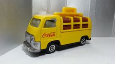 Coca-Cola 1950 France Style Delivery Truck Van Vintage Diecast Vehicle 80s-90s by mycoffeeboy, $115.00 HKD