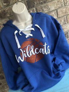 Pop Threads Wildcats vs Everyone Sports Fan Mascot High School Mens Fleece Hoodie Sweatshirt