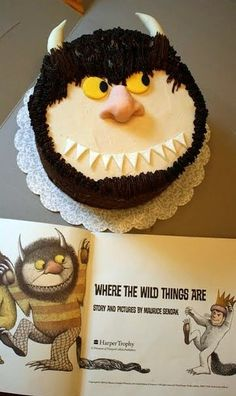 Where the Wild Things Are cake . . . | From my own kitchen . . .