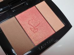 Lancome Blush Subtil Face Sculpting & Illuminating Palette. REview, pics, swatches! Prime Beauty Blog