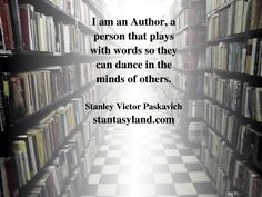 A quote about being and author