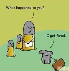 Bad day in the ballistics lab.