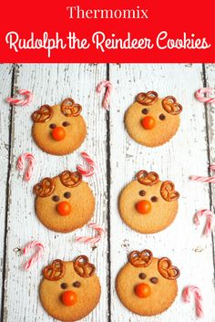 These Rudolph cookies are as cute as they are delicious. You're sure to have as much fun decorating them as you will eating them!