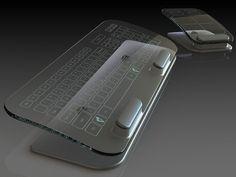 Концепт: Multi-Touch клавиатура и мышь