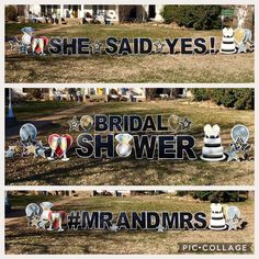 Birthday Yard Signs, Yard Party, Gender Reveal, Party Planning, Graham, Birthdays, Baby Shower, How To Plan, Bridal