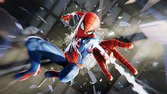 Playstation, Xbox, Amazing Spiderman, Spider Man Ps4, Spider Man 2018, Hawkeye, Black Widow, Hulk, Captain America