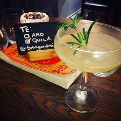 Tequila, Rosemary, Lemon & a few more secret ingredients! Cheeky Friday night treat ;) #bedfordplace #southampton #cocktails #bringandmix