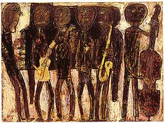 Jean Dubuffet, Jazz Band, 1944