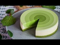 The Captivating Video of a Matcha Mousse Cake We Cant Stop Watching