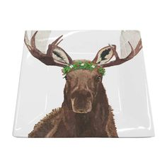 Themes - Holidays & Seasons - Winter – Page 6 – Paperproducts Design Tabletop Accessories, Fine Porcelain, Product Design, Moose Art, Plates, Seasons, Holidays, Winter, Animals