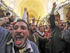 Coptic Christians under siege as mob attacks Cairo cathedral - Africa - World - The Independent 4/8/13