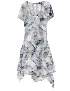 McQ by Alexander McQueen printed silk dress
