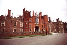 Hampton Court -- I would die!!!!!!!!  (I LOVE THE TUDORS!)