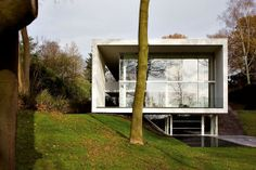 Genets 3 house project in Belgium by AABE - http://www.decorationarch.com/home-design-tips/genets-3-house-project-in-belgium-by-aabe.html